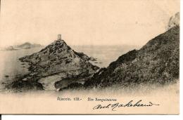 CORSE - AJACCIO - - L. Cardinali 1905 + Cachet ---  Les Sanguinaires - Ajaccio