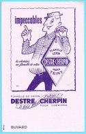 BUVARD BUVARDS Algerie Algeria France Publicité Pub Destre Cherpin Shirts Chemises Flanelle Coton - Textile & Clothing
