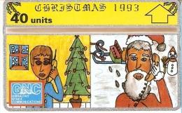 Nº 24 TARJETA DE GIBRALTAR DE NAVIDAD-CHRISTMAS  NUEVO-MINT - Gibraltar