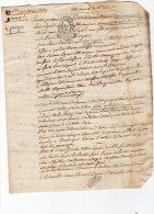 VP63 - LE PIN X POMPONNE 1793 - Acte Titre Nouvel De Rente - Seals Of Generality