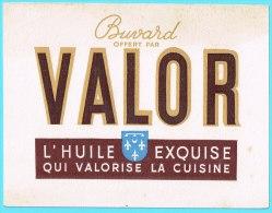 BUVARD BUVARDS Algerie Algeria France Publicité Pub VALOR Huile Exquise Cuisine Cooking Oil - Alimentaire