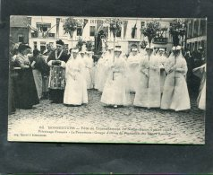 BELGIQUE  PERUWELZ   BONSECOURS 1905 FETE DU COURONNEMENT PROCESSION COURONNEMENT   CIRC  NON / 1900 - Peruwelz