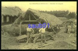 Reproduction CECODI -  La Chapelle Royale - Chantier De Briques - Réf: 28733 - Autres Communes