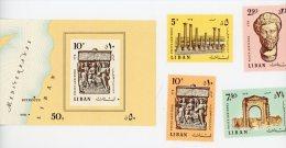 Liban 1968-Site De Tyr-YT B25+452/5***MNH - Archaeology