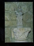 Aubeterre Sur Dronne Intérieur De L'eglise Saint Jacques La Vierge Et L'enfant - Frankreich