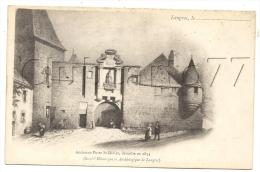 Langres (52) : Illustration De 1854 Ancienne Porte Saint-Didier En 1905 (animé). - Langres