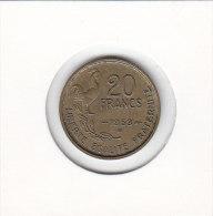 20 FRANCS Alu Bronze 1953 - Frankreich
