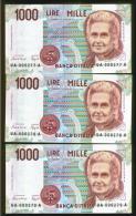 TRE MILLE LIRE MONTESSORI - CIAMPI - [ 2] 1946-… : Repubblica