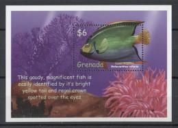 Grenada - 2000 Tropical Marine Fauna Block (2) MNH__(TH-13092) - Grenada (1974-...)