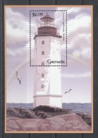 Grenada - 2001 Lighthouses Block (4) MNH__(TH-2047) - Grenada (1974-...)