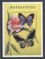 Grenada Grenadines - 2000 Butterflies Block (2) MNH__(TH-10959) - Grenada (1974-...)