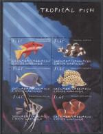 Grenada Grenadines - 2000 Tropical Fish (II) Kleinbogen (2) MNH__(TH-6834) - Grenada (1974-...)