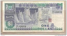 Singapore - Banconota Circolata Da 1 Dollaro - 1984 - Singapore
