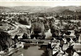 CPSM   BRETENOUX     Le Village Et Ses Environs Vu Du Ciel - Bretenoux
