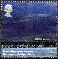 GREAT BRITAIN 2004 A British Journey. Wales: 2nd Class NVI Barmouth Bridge - Usati