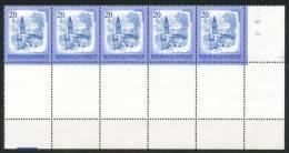 Österreich-  Mi. Nr.   -  1649    -  Postfrisch   5 Er Block - 1971-80 Unused Stamps