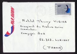 1979   Journée Mondiale Des Télécommunications  Seul Sur Lettre Vion Pour La France - Obervolta (1958-1984)