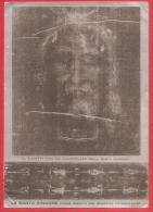 CARTOLINA NV ITALIA - La SANTA SINDONE Come Risulta Dal Negativo Fotografico - 10 X 15 - Gesù
