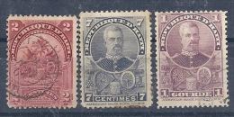 131007560  T'HAITI YVERT   Nº  50/55/61  USED/* - Tahiti (1882-1915)
