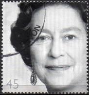 GREAT BRITAIN 2002 Golden Jubilee. Studio Portraits: 45p Yousef Karsh - Used Stamps