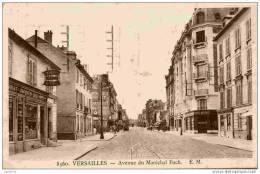 78-VERSAILLES-Avenue Du Maréchal Foch- Animée - Versailles