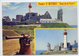 Près Le Conquet--PLOUGONVELIN--Po Inte St Mathieu (phare ,sémaphore)--vues Diverses,cpsm 10 X 15 N° 2204 éd Jack - France