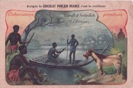 Canot D'Ambatch (format 7 X10,5 Cm)  // INEDIT Et PAS COURANTE- Carte Rigide, Coins Nets  //** - Advertising