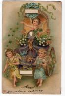 Angel  Engel Angelo Vintage Original Postcard Cpa Ak (W3_2522) - Angeles