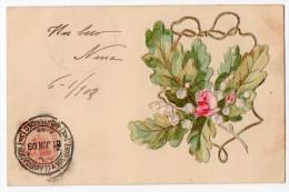 Saint Valentine's Day Rose Vintage Original Postcard Cpa Ak (W3_2529) - San Valentino