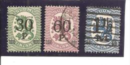 Finlandia-Finland Nº Yvert  95-96, 98 (usado) (o) - Used Stamps