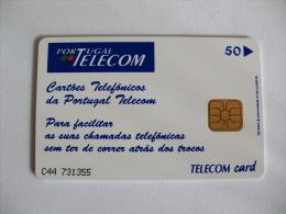 Phonecard/ Telécarte Telecom Card Alcatel - 50 Impulsos Portugal Tirage 23000 Ex. - Portugal