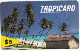 DOMINICANA  - Tropicard/Beach, Codetel/RSLcom Prepaid Card $5, Used