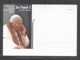 POLAND 2005 POPE JPII SPECIAL SET OF 2 COMMEMORATIVE POSTCARDS OLSZTYN (ONLY 1,000 ISSUED) RELIGION CHRISTIANITY - Poland