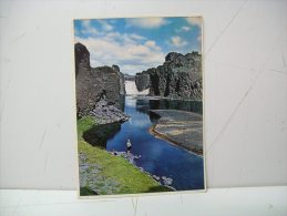 The Waterfall Hajalp (Islanda) - Islanda