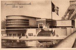 - CPA - 75 -  EXPOSITION INTERNATIONALE PARIS 1937 - Pavillon De La Belgique. - 927 - Expositions
