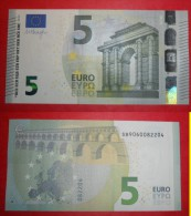 ITALIA ITALY 5 EURO 2013 DRAGHI SERIE SB 9060082204 S006I5 UNC FDS NEW BANKNOTE NUOVA BANCONOTA - EURO
