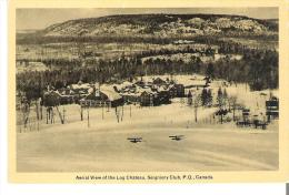 Aerial View Of The Log Chateau, Seigniory Club, Montebello, Quebec - Quebec