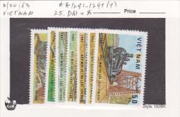 Vietnam1983 Locomotives Set MNH - Vietnam