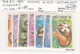 Vietnam1984 Endangered Animals Set MNH - Vietnam