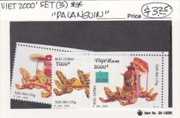 Vietnam2000 Bangkok Stamp Exhibition  Set MNH - Vietnam