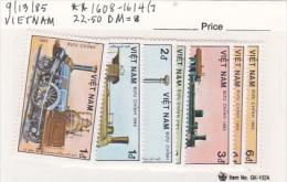 Vietnam1985 Locomotives Set MNH - Vietnam