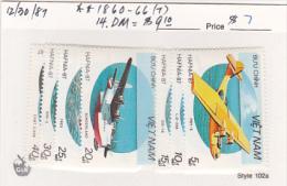 Vietnam1987 Seaplanes Set MNH - Vietnam