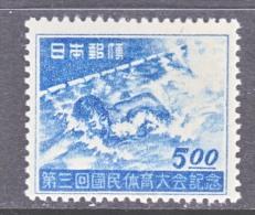 JAPAN  417  *  SPORTS, SWIMMING - 1926-89 Emperor Hirohito (Showa Era)