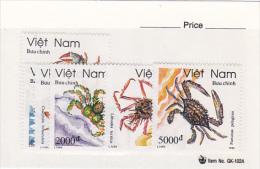 Vietnam1993 Crabs Set MNH - Vietnam