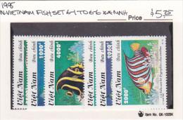 Vietnam1995 Fish Set MNH - Viêt-Nam