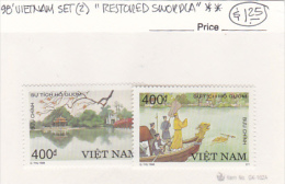 Vietnam1998 Legend Of The Lake Set MNH