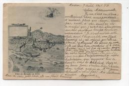 CPA 82 /  MOISSAC   Dessin  En 1574     écrite En  1901   VOIR  DESCRIPTIF  §§§§§ - Moissac