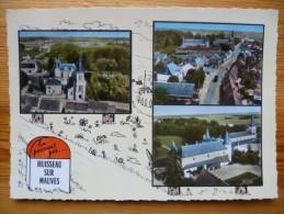 45 : Huisseau Sur Mauves - Multi Vues / Multivues / Multivue - Colorisée Avec Borne - (n°935) - Sonstige Gemeinden