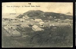 Cpa Du Cap Vert Cabo Verde Vista Da Fortaleça  S. Vicente   APJ8 - Cape Verde