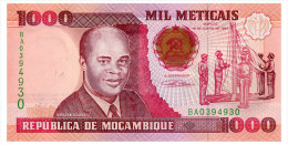 MOZAMBIQUE 1000 METICAIS 1991 Pick 135 Unc - Mozambique